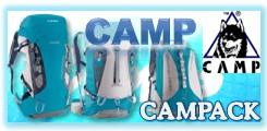 CAMPのザックCAMPACKシリーズ