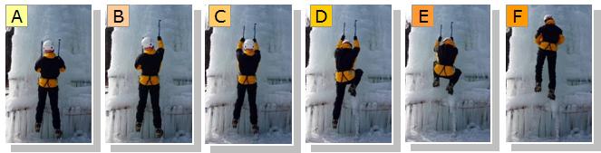 アイスクライミングの登り方