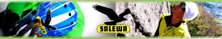 イタリアのアウトドア用品の総合ブランド サレワ(salewa)